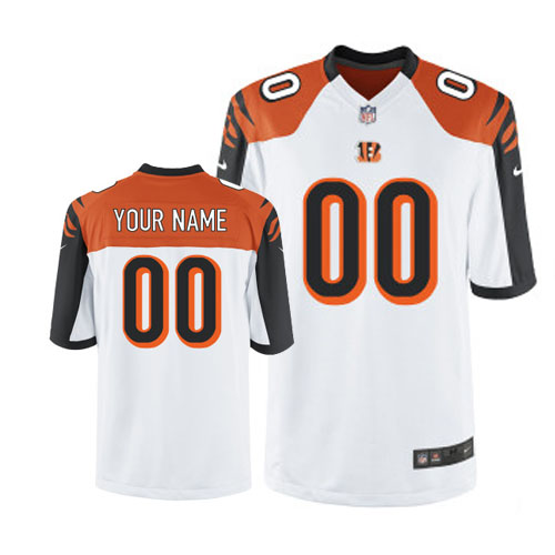 Limited Customized Cincinnati Bengals Youth Road Jersey  a7622af0d