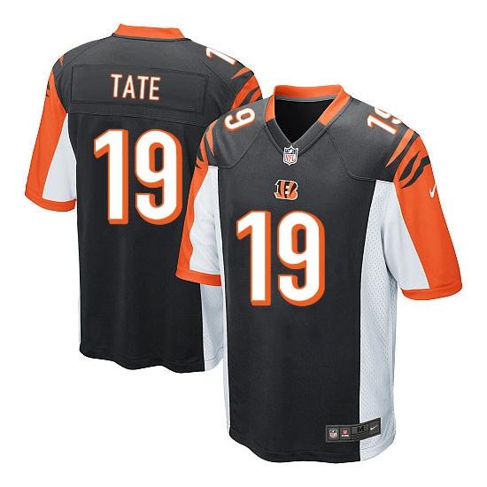 Brandon Tate Youth Nike Cincinnati Bengals No.19 Elite Team Color ...